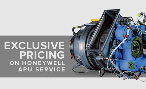 Exclusive Pricing on Honeywell APU Service