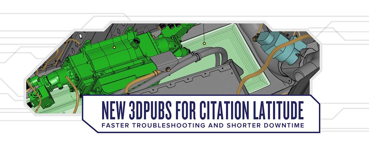New 3DPUBS for Citation Latitude